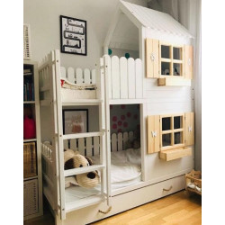Bunk Bed House bed
