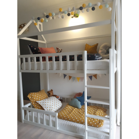 House Bed Bunk Bed / Play House ASTRID