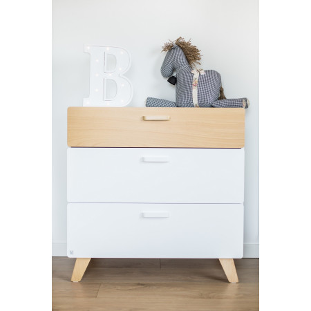 Dresser / Changing Table HOPPA with 3 Drawers