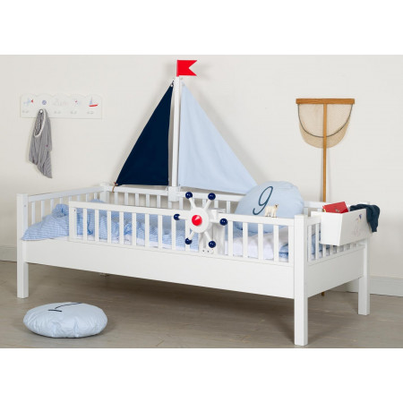COUCH BED SAILING BOAT